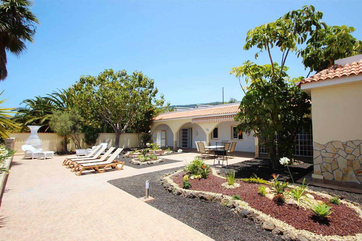 Casa Herrenhaus Garden of cottage at Aqua & SPA Finca Montimar in Tenerife