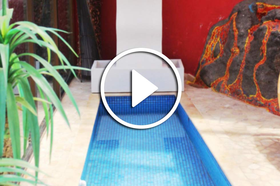 Video on Aqua ans Spa area Finca Montimar