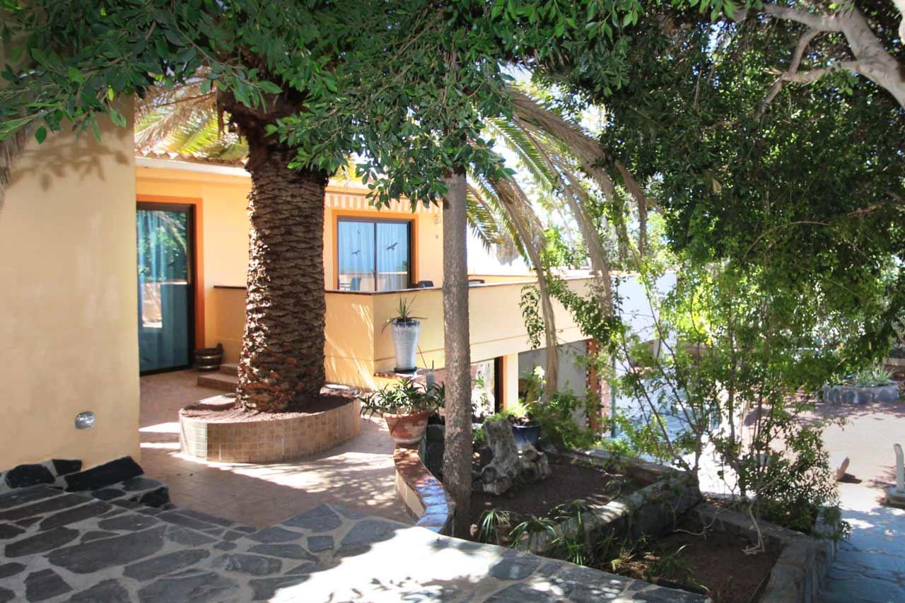 Casa Zahora Einladende Terrasse