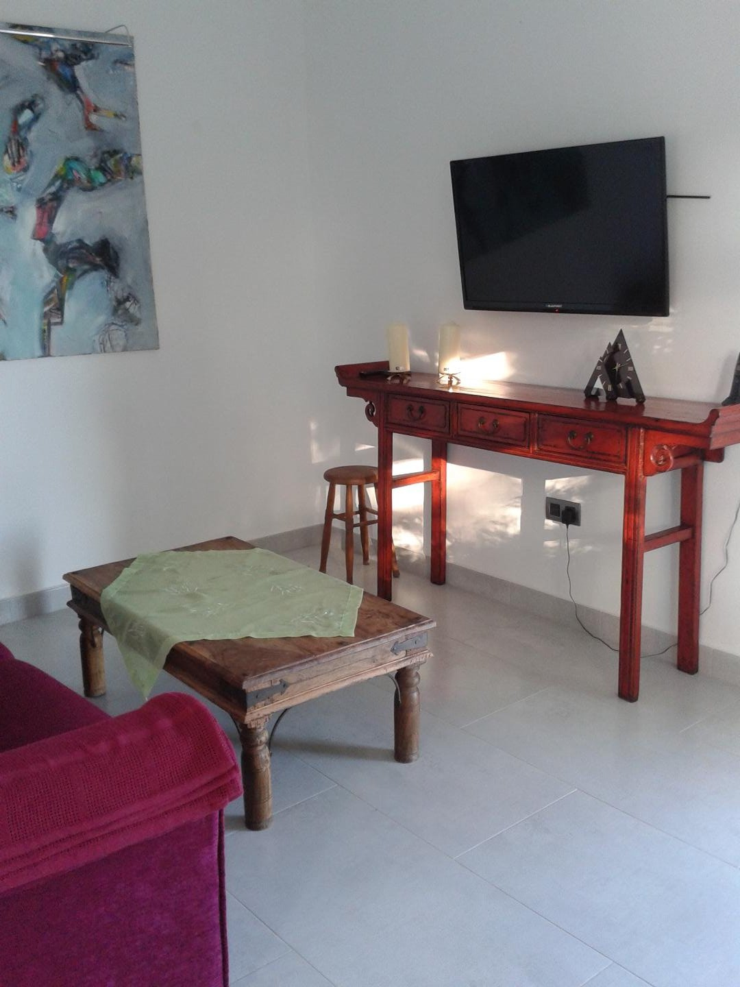 Finca Las Damas in Playa San Juan: Apartment situated at an ecologic banana farm