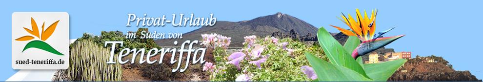 Willkommen zum Urlaub auf Teneriffa (Süd).  Finca, Ferienhaus und Meer.