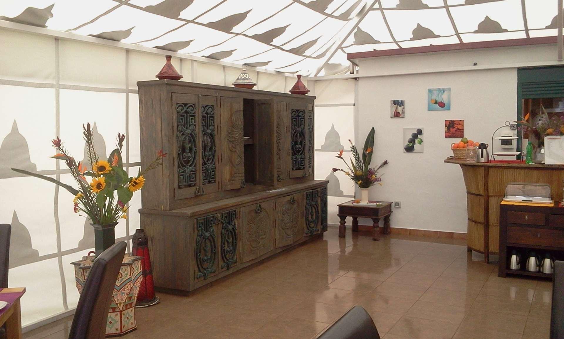Teneriffa Finca Montimar: Veranstaltungszelt