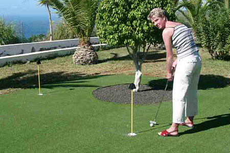 Teneriffa Finca Montimar Putting Green
