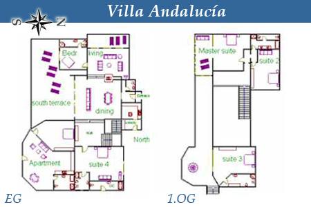 Villa Andalucía, Ferien-Villa in Süd-Teneriffa, Chayofa bei Los ...