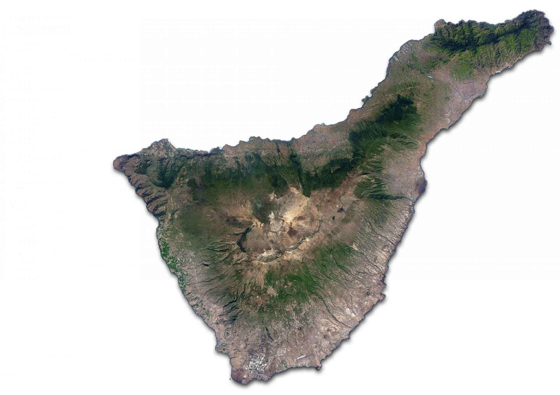 Tenerife: Plan your holidays with interactive map of Tenerife